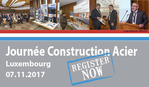 Journ e construction acier stolbaudag 2017 luxembourg for Chambre de commerce kirchberg